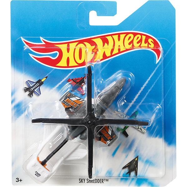 Базовый самолетик Mattel Hot Wheels, Sky ShredderПопулярные игрушки<br>Характеристики:<br><br>• возраст: от 4 лет;<br>• тип игрушки: самолет;<br>• цвет: серый;<br>• материал: пластик;<br>• размер: 16,5х14х3 см;<br>• вес: 70 гр; <br>• бренд: Hot Wheels;<br>• страна производитель: Китай.<br><br>Самолет Hot Wheels серии Sky Busters – это отличный подарок для мальчиков от 4 лет. Красочная игрушка особенно порадует любителей собирать коллекцию легендарных самолетов и вертолетов. Самолет от компании Mattel поможет ребенку почувствовать себя первоклассным пилотом и покорить небесные просторы.  <br><br>Серия Sky Busters™ включает реалистичные, тщательно проработанные самолеты и вертолеты, точь-в-точь похожие на настоящие. Достаточно крупные модели помогут маленькому авиаконструктору рассмотреть каждую деталь модели и понять, каким образом он смоделирован.<br><br>Кроме того, игрушка выполнена из безвредных для детей материалов. Такой самолет можно использовать вместе с другими игрушками серии, создавая одну большую платформу для игры. Также Hot Wheels  отлично подходят для того, чтобы взять их с собой. <br><br>Самолет  Hot Wheels  можно купить в нашем интернет-магазине.<br><br>Ширина мм: 165<br>Глубина мм: 140<br>Высота мм: 30<br>Вес г: 70<br>Возраст от месяцев: 48<br>Возраст до месяцев: 96<br>Пол: Мужской<br>Возраст: Детский<br>SKU: 7229171