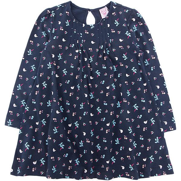 Платье SELA для девочкиПлатья и сарафаны<br>Характеристики товара:<br><br>• цвет: синий<br>• состав ткани: 100% хлопок<br>• сезон: демисезон<br>• застежка: пуговица<br>• длинные рукава<br>• страна бренда: Россия<br>• страна производства: Китай<br><br>Принтованное платье для девочки от Sela - стильная молодежная вещь по доступной цене. Модное платье для девочки поможет разнообразить гардероб ребенка. Детское платье застегивается на пуговицы. Платье для ребенка сшито из качественного материала, в составе которого только натуральный хлопок. <br><br>Платье Sela (Села) для девочки можно купить в нашем интернет- магазине.<br><br>Ширина мм: 236<br>Глубина мм: 16<br>Высота мм: 184<br>Вес г: 177<br>Цвет: темно-синий<br>Возраст от месяцев: 18<br>Возраст до месяцев: 24<br>Пол: Женский<br>Возраст: Детский<br>Размер: 92,116,110,104,98<br>SKU: 7229638