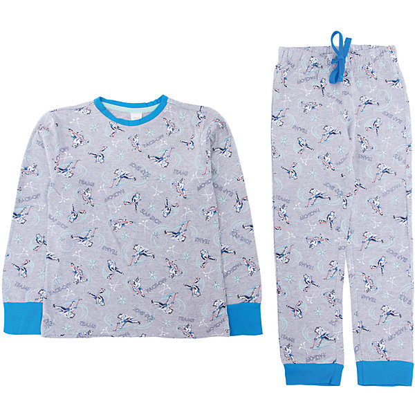 Пижама SELA для мальчикаПижамы и сорочки<br>Характеристики товара:<br><br>• цвет: серый<br>• комплектация: лонгслив и брюки<br>• состав ткани: 100% хлопок<br>• сезон: круглый год<br>• пояс: резинка, шнурок<br>• короткие рукава<br>• страна бренда: Россия<br>• страна производства: Индия<br><br>Симпатичная детская пижама декорирована оригинальным принтом. Хлопковая пижама сделана из качественного натурального материала. Удобная пижама для мальчика от Sela поможет обеспечить ребенку комфорт. <br><br>Пижаму Sela (Села) для мальчика можно купить в нашем интернет- магазине.<br><br>Ширина мм: 281<br>Глубина мм: 70<br>Высота мм: 188<br>Вес г: 295<br>Цвет: серый<br>Возраст от месяцев: 24<br>Возраст до месяцев: 36<br>Пол: Мужской<br>Возраст: Детский<br>Размер: 92/98,104/110,116/122,128/134<br>SKU: 7229963