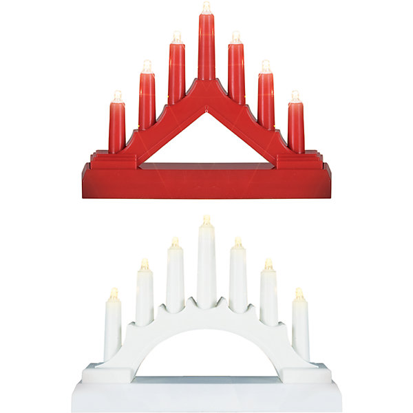 Декоративная фигурка-горка Свечи, 7 LED