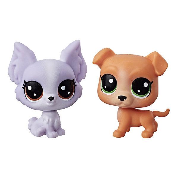 Купить Набор из двух фигурок Littlest Pet Shop Питли Булберри и Фрилли Лепапилон, Hasbro, Китай, Женский