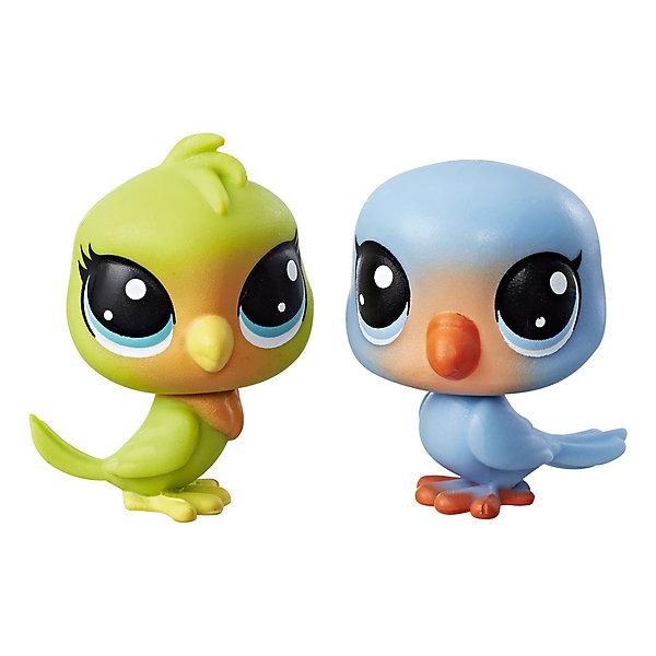 Купить Набор из двух фигурок Littlest Pet Shop Лолли Лавинстон и Лео Лавфевер, Hasbro, Китай, Женский
