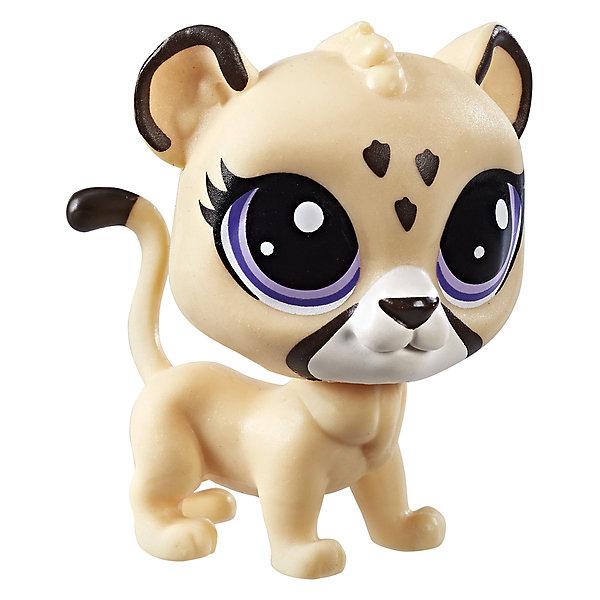 Фигурка Littlest Pet Shop, ЯгуарИгровые фигурки животных<br>Характеристики:<br><br>• возраст: от 4 лет;<br>• материал: пластик;<br>• в наборе: фигурка;<br>• вес упаковки: 50 гр.;<br>• размер упаковки: 11х12х4 см;<br>• страна бренда: США.<br><br>Фигурка Hasbro Littlest Pet Shop является частью коллекции милых зверушек с большими глазками. Собрав всю серию, ребенок сможет устраивать сюжетные игры или расставить игрушки на полку для украшения комнаты. Фигурка выполнена из прочных безопасных материалов, устойчивых к механическому воздействию.<br><br>Фигурку Littlest Pet Shop Пет можно купить в нашем интернет-магазине.<br>Ширина мм: 38; Глубина мм: 108; Высота мм: 121; Вес г: 68; Возраст от месяцев: 48; Возраст до месяцев: 2147483647; Пол: Женский; Возраст: Детский; SKU: 7230745;
