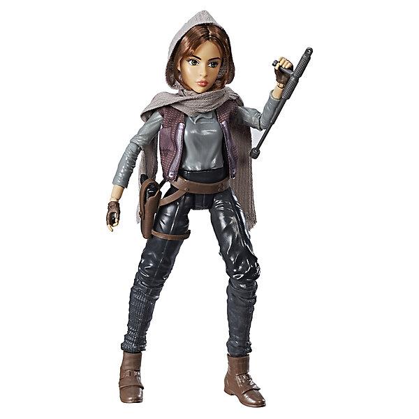 Кукла Star Wars Джин Эрсо, 27,5 смЗвездные войны Игрушки<br>Характеристики:<br><br>• возраст: от 4 лет;<br>• материал: пластик;<br>• в наборе: фигурка, аксессуары;<br>• высота игрушки: 30 см;<br>• вес упаковки: 390 гр.;<br>• размер упаковки: 32х16х6 см;<br>• страна бренда: США.<br><br>Модная кукла Hasbro в точности изображает героиню «Звездных войн». Внешний вид фигурки детально проработан, лицо прорисовано. У куклы двигаются и сгибаются руки и ноги, в наборе имеются соответствующие героине атрибуты и оружие.<br><br>Если сжать ножки игрушки вместе, она примет боевую позу. Кукла станет ценной частью коллекции фигурок и подойдет для сюжетных игр. Сделано из прочных качественных материалов.<br><br>Модную куклу «Звездные войны» можно купить в нашем интернет-магазине.<br>Ширина мм: 64; Глубина мм: 165; Высота мм: 324; Вес г: 273; Возраст от месяцев: 36; Возраст до месяцев: 2147483647; Пол: Унисекс; Возраст: Детский; SKU: 7230768;