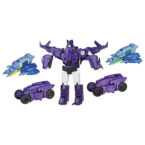Трансформеры Transformers Роботы под Прикрытием: Тим-Комбайнер, ГальватронусТрансформеры-игрушки<br>Характеристики:<br><br>• возраст: от 6 лет;<br>• материал: пластик;<br>• в наборе: трансформер, 4 машинки, аксессуар;<br>• вес упаковки: 455 гр.;<br>• размер упаковки: 6х30х22 см;<br>• страна бренда: США.<br><br>Набор трансформеров Hasbro «Роботы под прикрытием: Тим-Комбайнер» включает главного трансформера и четыре машинки. Каждая игрушка имеет два варианта воплощения: большой робот может стать мощной машиной, а машинки – частью одного мегатрансформера.<br><br>Игрушки детализированы, имеют подвижные элементы, соединяются между собой. Набор открывает простор для сюжетных игр по мотивам известной серии фильмов «Трансформеры».<br><br>Трансформеров «Рпп: Тим-Комбайнер» можно купить в нашем интернет-магазине.<br>Ширина мм: 60; Глубина мм: 229; Высота мм: 305; Вес г: 700; Возраст от месяцев: 48; Возраст до месяцев: 2147483647; Пол: Женский; Возраст: Детский; SKU: 7230777;