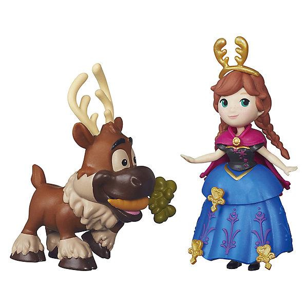Мини-кукла Hasbro Disney Princess Холодное сердце Анна и СвенХолодное Сердце<br>Характеристики товара:<br><br>• возраст: от 4 лет;<br>• материал: пластик;<br>• в комплекте: 2 фигурки, аксессуары;<br>• размер упаковки: 15,5х15х3,8 см;<br>• вес упаковки: 98 гр.;<br>• страна изготовитель: Китай.<br><br>Игровой набор «Холодное сердце» Hasbro создан по мотивам известного мультфильма. В наборе представлена принцесса Анна и смешной олень Свен. Аксессуары позволят украсить наряд принцессы. Игрушка выполнена из качественного пластика.<br><br>Игровой набор «Холодное сердце» Hasbro можно приобрести в нашем интернет-магазине.<br><br>Ширина мм: 38<br>Глубина мм: 150<br>Высота мм: 155<br>Вес г: 98<br>Возраст от месяцев: 48<br>Возраст до месяцев: 2147483647<br>Пол: Женский<br>Возраст: Детский<br>SKU: 7230783