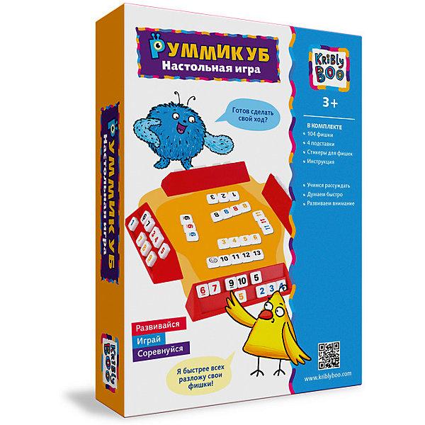 Настольная игра РуммикубНастольные игры для всей семьи<br>Настольная игра Руммикуб  -  игра для тех, которые любит сложные задачки, головоломки и стратегии.  Эта игра для всей семьи, которая увлечет на весь вечер<br>Ширина мм: 250; Глубина мм: 150; Высота мм: 40; Вес г: 160; Возраст от месяцев: 72; Возраст до месяцев: 2147483647; Пол: Унисекс; Возраст: Детский; SKU: 7231070;