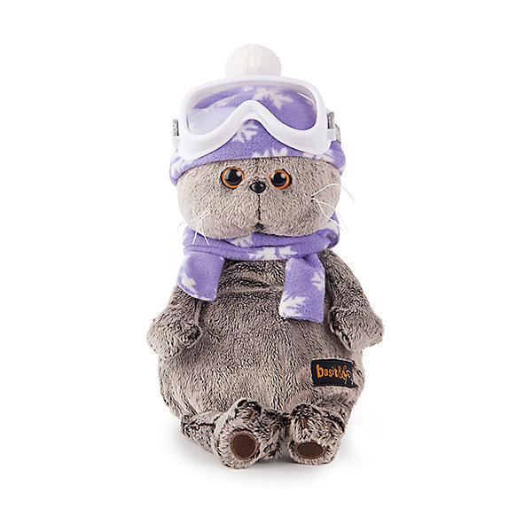 Басик-лыжникМягкие игрушки-кошки<br>Характеристики товара:<br><br>• возраст: от 3 лет;<br>• материал: текстиль, искусственный мех;<br>• высота игрушки: 26 см;<br>• размер упаковки: 27х14х16 см;<br>• вес упаковки: 483 гр.;<br>• страна производитель: Россия.<br><br>Мягкая игрушка «Басик-лыжник» Budi Basa - очаровательный пушистый котенок с добрыми глазками. Басик одет в горнолыжную одежду, на нем флисовая шапочка, шарф и горнолыжные очки. <br><br>Игрушка выполнена из качественного безопасного материала, настолько приятного и мягкого, что ребенок будет брать с собой котенка в кроватку и спать в обнимку.<br><br>Мягкую игрушку «Басик-лыжник» Budi Basa можно приобрести в нашем интернет-магазине.<br><br>Ширина мм: 270<br>Глубина мм: 160<br>Высота мм: 140<br>Вес г: 483<br>Возраст от месяцев: 36<br>Возраст до месяцев: 168<br>Пол: Унисекс<br>Возраст: Детский<br>SKU: 7231231