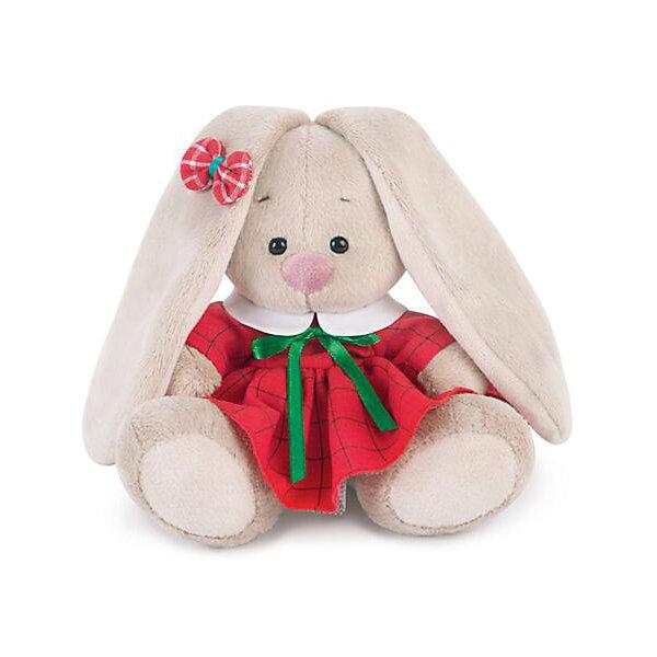 Зайка Ми  в красном платье в клетку (малыш)Мягкие игрушки животные<br>Характеристики товара:<br><br>• возраст: от 3 лет;<br>• материал: текстиль, искусственный мех;<br>• высота игрушки: 13 см;<br>• размер упаковки: 13,5х13.5х13 см;<br>• вес упаковки: 210 гр.;<br>• страна производитель: Россия.<br><br>Мягкая игрушка «Зайка Ми в красном платье в клетку» Budi Basa — очаровательный пушистый зайчонок с длинными ушками. <br><br>Игрушка выполнена из качественного безопасного материала, настолько приятного и мягкого, что ребенок будет брать с собой зайку в кроватку и спать в обнимку.<br><br>Мягкую игрушку «Зайка Ми в красном платье в клетку» Budi Basa можно приобрести в нашем интернет-магазине.<br><br>Ширина мм: 135<br>Глубина мм: 135<br>Высота мм: 130<br>Вес г: 210<br>Возраст от месяцев: 36<br>Возраст до месяцев: 168<br>Пол: Унисекс<br>Возраст: Детский<br>SKU: 7231234