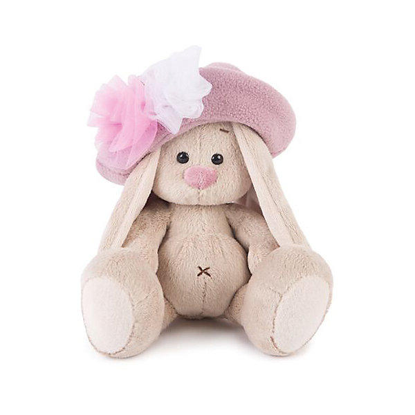 Зайка Ми в шляпе с розами (малыш)Мягкие игрушки зайцы и кролики<br>Характеристики товара:<br><br>• возраст: от 3 лет;<br>• материал: текстиль, искусственный мех;<br>• высота игрушки: 13 см;<br>• размер упаковки: 13,5х13.5х13 см;<br>• вес упаковки: 210 гр.;<br>• страна производитель: Россия.<br><br>Мягкая игрушка «Зайка Ми в шляпе с розами» Budi Basa — очаровательный пушистый зайчонок с длинными ушками. На зайке большая розовая шляпа с розами. Игрушка выполнена из качественного безопасного материала, настолько приятного и мягкого, что ребенок будет брать с собой зайку в кроватку и спать в обнимку.<br><br>Мягкую игрушку «Зайка Ми в шляпе с розами» Budi Basa можно приобрести в нашем интернет-магазине.<br><br>Ширина мм: 135<br>Глубина мм: 135<br>Высота мм: 130<br>Вес г: 210<br>Возраст от месяцев: 36<br>Возраст до месяцев: 168<br>Пол: Унисекс<br>Возраст: Детский<br>SKU: 7231237