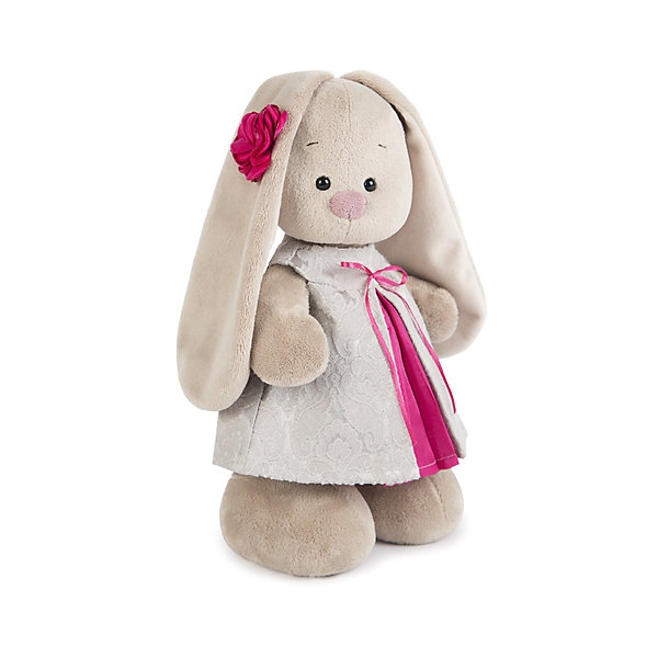 Зайка Ми  в сером платье из жаккарда (малая)Мягкие игрушки зайцы и кролики<br>Характеристики товара:<br><br>• возраст: от 3 лет;<br>• материал: текстиль, искусственный мех;<br>• высота игрушки: 15 см;<br>• размер упаковки: 15х14х15 см;<br>• вес упаковки: 270 гр.;<br>• страна производитель: Россия.<br><br>Мягкая игрушка «Зайка Ми  в сером платье из жаккарда» Budi Basa — очаровательный пушистый зайчонок с длинными ушками. На зайке милое жаккардовое платице, а на ушке милый цветок. Игрушка выполнена из качественного безопасного материала, настолько приятного и мягкого, что ребенок будет брать с собой зайку на прогулку или в поездку.<br><br>Мягкую игрушку «Зайка Ми  в сером платье из жаккарда» Budi Basa можно приобрести в нашем интернет-магазине.<br><br>Ширина мм: 151<br>Глубина мм: 140<br>Высота мм: 150<br>Вес г: 270<br>Возраст от месяцев: 36<br>Возраст до месяцев: 168<br>Пол: Унисекс<br>Возраст: Детский<br>SKU: 7231250