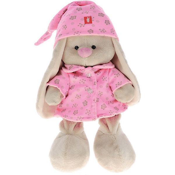 Мягкая игрушка Budi Basa Зайка Ми в розовой пижаме, 18 смМягкие игрушки зайцы и кролики<br>Характеристики товара:<br><br>• возраст: от 3 лет;<br>• материал: текстиль, искусственный мех;<br>• высота игрушки: 15 см;<br>• размер упаковки: 15х14х15 см;<br>• вес упаковки: 270 гр.;<br>• страна производитель: Россия.<br><br>Мягкая игрушка «Зайка Ми  в розовой пижаме» Budi Basa — очаровательный пушистый зайчонок с длинными ушками. На зайке ночной колпачок и пижамка розового цвета. Игрушка выполнена из качественного безопасного материала, настолько приятного и мягкого, что ребенок будет брать с собой зайку в кроватку и спать в обнимку.<br><br>Мягкую игрушку «Зайка Ми  в розовой пижаме» Budi Basa можно приобрести в нашем интернет-магазине.<br><br>Ширина мм: 151<br>Глубина мм: 140<br>Высота мм: 150<br>Вес г: 270<br>Возраст от месяцев: 36<br>Возраст до месяцев: 168<br>Пол: Унисекс<br>Возраст: Детский<br>SKU: 7231253