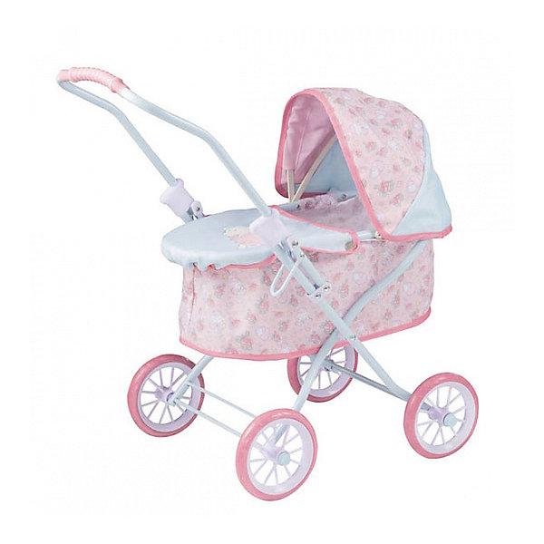 Игрушка Baby Annabell Коляска уютная, 2017, кор.Транспорт и коляски для кукол<br>Характеристики товара:<br><br>• возраст: от 3 лет;<br>• цвет: розово- голубой;<br>• пол: девочка;<br>• из чего сделана игрушка (состав): пластик, металл, текстиль;<br>• размер упаковки: 52х32х9 см.;<br>• картонная коробка;<br>• размер коляски: 55.5х36х51 см;<br>• подходящая высота кукол: 46 см;<br>• вес: 1.6 кг.;<br>• страна обладатель бренда: Германия.<br><br>Коляска Уютная от бренда Zapf Creation предназначена специально для кукол Бэби Анабель, и ее название говорит само за себя - в ней любимая игрушечная подруга будет чувствовать себя действительно очень комфортно! Дизайн коляски и ее розовая расцветка понравится нежным и утонченным девочкам, любящим окружать себя красивыми и милыми вещами. Коляска имеет высокие бортики и глубокую люльку, поэтому спящая в ней кукла будет чувствовать себя в тишине и безопасности.<br><br>Тент коляски может открываться и закрываться для защиты куколки от дождя или палящего солнца. Также девочка сможет прикрыть люльку коляски специальным чехлом на застежках, чтобы обеспечить кукле дополнительную защиту от холода или жары.<br><br>Коляску «Уютная» от бренда Zapf Creation Baby Annabell, 2017 можно купить в нашем интернет-магазине.<br>Ширина мм: 90; Глубина мм: 320; Высота мм: 520; Вес г: 1823; Возраст от месяцев: 36; Возраст до месяцев: 2147483647; Пол: Женский; Возраст: Детский; SKU: 7231385;