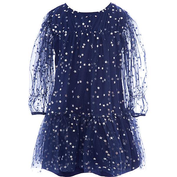 Купить Платье нарядное Bell Bimbo для девочки, Беларусь, синий, 110, 116, 128, 122, 104, Женский