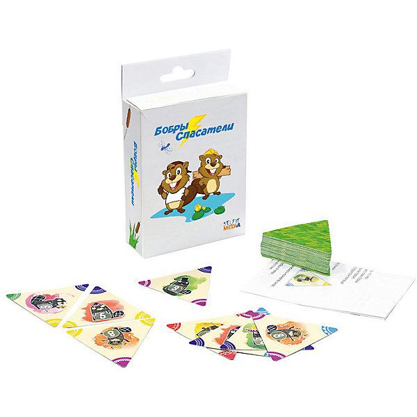 """Настольная игра Selfie media Бобры-спасателиНастольные игры для всей семьи<br>Характеристики товара:<br><br>• возраст: от 7 лет;<br>• материал: картон;<br>• в комплекте: 56 карточек-треугольников и подробные правила игры на русском языке. ;<br>• размер упаковки: 9х3х14,5 см;<br>• упаковка: картонная коробка;<br>• количество предполагаемых игроков: 2-6;<br>• вес упаковки: 90 гр.;<br>• страна производитель: Россия.<br><br>Если вы задумались, как весело и с пользой провести время с компанией или всей семьей поможет настольная игра «Бобры-спасатели».<br>Суть игры: нужно как можно быстрее расположить бобров в правильном порядке. При этом игра очень забавна и интересна.<br><br>Такие игры способствуют развитию внимательности, реакции, интеллекта, гибкости мышления и логики.Продается в удобной для хранения и использования упаковке. Сделана из материалов, безопасных для детей.<br><br>Игра понравится как детям, так и взрослым. Она отлично подойдет для семейного вечера. Кроме того партия не займет у вас много времени, а карты много не весят, поэтому игра """"Бобры-спасатели"""" подойдет и для игр в дороге.Время игры 20 минут.<br><br>Настольную игру «Бобры-спасатели». можно приобрести в нашем интернет-магазине.<br><br>Ширина мм: 90<br>Глубина мм: 30<br>Высота мм: 145<br>Вес г: 90<br>Возраст от месяцев: 84<br>Возраст до месяцев: 180<br>Пол: Унисекс<br>Возраст: Детский<br>SKU: 7232889"""