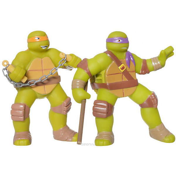 Набор для купания  Черепашки ниндзя .Черепашки Ниндзя<br>Черепашки Ниндзя Играем вместе  - это необычные игрушки, которые помогут разнообразить и сделать купание веселым. Данная модель включает 2 игрушки отважных Черепашек Ниндзя. Игрушки изготовлены из абсолютно безопасных материалов, долговечны и имеют яркий дизайн.<br><br>Ширина мм: 50<br>Глубина мм: 50<br>Высота мм: 110<br>Вес г: 110<br>Возраст от месяцев: 36<br>Возраст до месяцев: 84<br>Пол: Унисекс<br>Возраст: Детский<br>SKU: 7233164