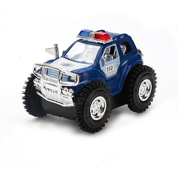 Машина-перевертыш Полиция патруль на батарейках.Машинки<br>Машина-Перевертыш - это настоящее трюковое зрелище.Она умеет не только ездить, но и прыгать, переварачиваться, при этом создавая различные световые эффекты. Машине не страшны никакие дороги, хоть грязь, хоть яма или трава. Ваш ребенок никогда не соскучиться с такой игрушкой.<br><br>Ширина мм: 120<br>Глубина мм: 100<br>Высота мм: 110<br>Вес г: 170<br>Возраст от месяцев: 36<br>Возраст до месяцев: 84<br>Пол: Унисекс<br>Возраст: Детский<br>SKU: 7233165