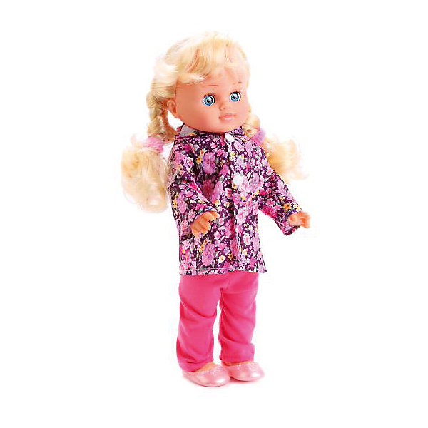 Ккула 35 см , озвученная, кольцо  и резиночки в подарок.Бренды кукол<br>Характеристики товара:<br><br>• в комплекте: кукла, аксессуары;<br>• высота куклы: 35 см;<br>• возраст: от 3 лет;<br>• материал: пластик, текстиль;<br>• батарейки в комплекте;<br>• размер упаковки: 10х20х39 см;<br>• страна бренда: Россия.<br><br>Кукла высотой 35 сантиметров от торговой марки Карапуз станет настоящей подружкой для девочки. У куклы длинные светлые волосы, заплетенные в два хвостика, широкие глазки и очаровательное личико. Кукла одета в розовый костюм, защищающий от дождя и сандалики в тон. В комплект входят резиночки и колечко, которыми сможет воспользоваться хозяйка куклы. Если нажать Полине на животик, она споет песенку и расскажет стихотворения Агнии Барто.<br><br>Куклу 35 см , озвученную, кольцо  и резиночки в подарок, Карапуз можно купить в нашем интернет-магазине.<br>Ширина мм: 100; Глубина мм: 50; Высота мм: 350; Вес г: 690; Возраст от месяцев: 36; Возраст до месяцев: 84; Пол: Унисекс; Возраст: Детский; SKU: 7233179;
