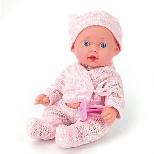 Пупс  25 см, твердое тело, озвученный, руссифицированный.Куклы<br>Характеристики товара:<br><br>• в комплекте: кукла, одежда;<br>• высота куклы: 25 см;<br>• возраст: от 3 лет;<br>• материал: пластик, текстиль;<br>• размер упаковки: 11х21х18 см;<br>• страна бренда: Россия.<br><br>С очаровательным пупсом от торговой марки Карапуз девочка никогда не заскучает. Малыша можно убаюкать, покормить, уложить спать, воображая себя заботливой мамой. Кроме того, пупс умеет петь песню и рассказывать стихи Агнии Барто. Ручки и ножки игрушки подвижны для придания нужной позы. Малыш одет в  розовый костюмчик и розовую шапочку. Пупс имеет твердое тело.<br><br>Пупса  25 см, твердое тело, озвученного, русифицированный, Карапуз можно купить в нашем интернет-магазине.<br>Ширина мм: 90; Глубина мм: 55; Высота мм: 250; Вес г: 420; Возраст от месяцев: 36; Возраст до месяцев: 84; Пол: Унисекс; Возраст: Детский; SKU: 7233190;