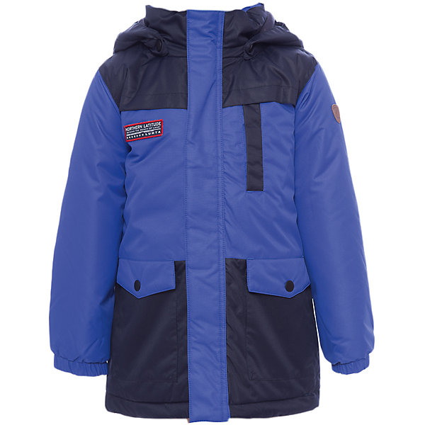 Куртка Luhta для мальчикаОдежда<br>Характеристики товара:<br><br>• цвет: синий<br>• состав ткани: 100% полиэстер<br>• подкладка: 100% полиэстер<br>• утеплитель: 100% полиэстер<br>• сезон: зима<br>• мембранное покрытие<br>• температурный режим: от -20 до +5<br>• водонепроницаемость: 2000 мм <br>• паропроницаемость: 2000 г/м2<br>• плотность утеплителя: 200 г/м2<br>• капюшон: съемный<br>• застежка: молния<br>• встроенный датчик температуры<br>• страна бренда: Финляндия<br>• страна изготовитель: Китай<br><br>Зимняя куртка для ребенка отлично подойдет для зимних морозов. Мембранное покрытие детской куртки для зимы делает её очень комфортной. Эта теплая куртка для мальчика позволяет коже дышать. Плотный верх детской зимней куртки не промокает и не продувается, его легко чистить. <br><br>Куртку Luhta (Лухта) для мальчика можно купить в нашем интернет-магазине.<br>Ширина мм: 356; Глубина мм: 10; Высота мм: 245; Вес г: 519; Цвет: синий; Возраст от месяцев: 72; Возраст до месяцев: 84; Пол: Мужской; Возраст: Детский; Размер: 122,98,104,110,116; SKU: 7235734;