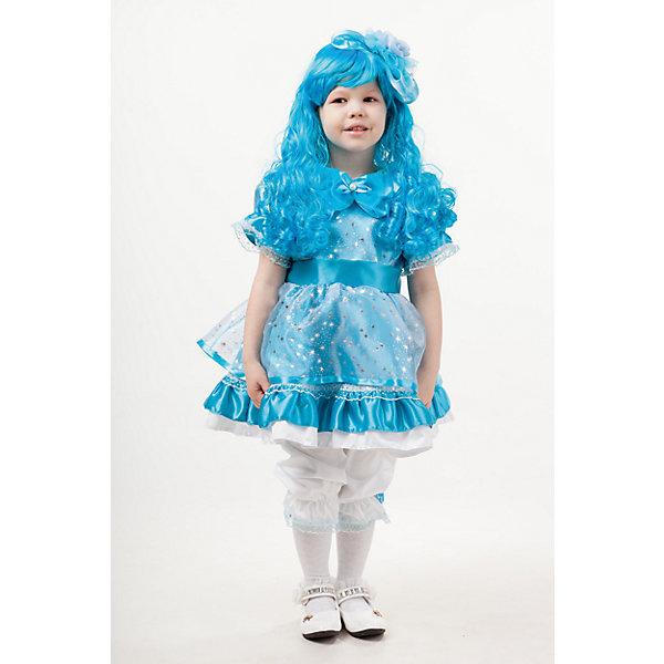 2000 к-18 Костюм Кукла МальвинаНовинки для праздника<br>100% полиэстер Яркаий пышный карнавальный костюм для девочки Мальвина выполнен из сатина. Для образа Мальвины только голубой парик с длинными кудрявыми волосами и ободком, пышное платье с белым подъюбником, белые панталоны. Застежка на молнии на спинке.<br>Ширина мм: 450; Глубина мм: 80; Высота мм: 350; Вес г: 250; Возраст от месяцев: 96; Возраст до месяцев: 108; Пол: Женский; Возраст: Детский; Размер: 134,110,116,128; SKU: 7238582;