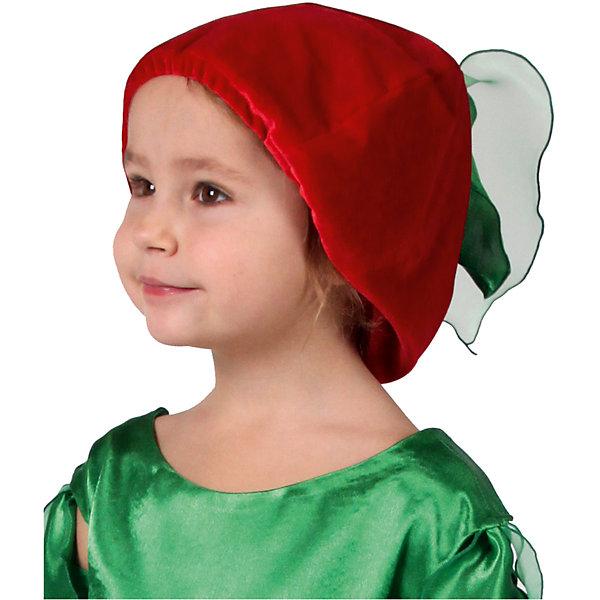 Шапочка ВишенкаДетские шляпы и колпаки<br>Шапочка<br>Ширина мм: 450; Глубина мм: 80; Высота мм: 350; Вес г: 50; Возраст от месяцев: 60; Возраст до месяцев: 108; Пол: Женский; Возраст: Детский; SKU: 7238884;