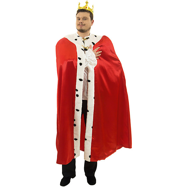 Король (164)Карнавальные костюмы для мальчиков<br>Мантия, корона<br>Ширина мм: 450; Глубина мм: 80; Высота мм: 350; Вес г: 360; Возраст от месяцев: 192; Возраст до месяцев: 2147483647; Пол: Мужской; Возраст: Детский; SKU: 7238891;