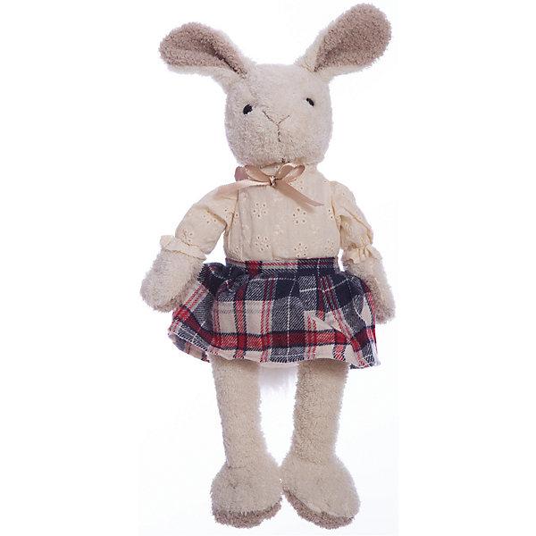 Мягкая игрушка Angel Collection Зайка Мэри в клетчатой юбке, 23 см
