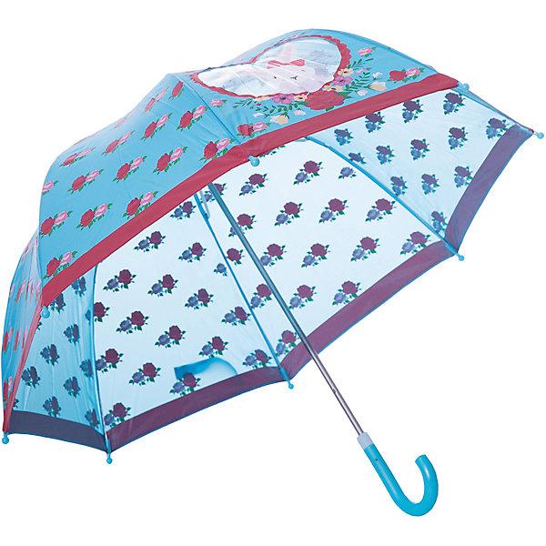 Зонт Mary Poppins Rose Bunny 46 см, голубойЗонты детские<br>Характеристики:<br><br>• возраст: от 3 лет<br>• радиус: 46 см.<br>• длина ручки: 57 см.<br>• система складывания: механическая<br>• материал: полиэстер, пластик, металл<br>• вес: 260 гр.<br><br>Стильный зонтик голубого цвета «Rose Bunny» с изображением милого зайчонка от бренда Mary Poppins (Мэри Поппинс) не только защитит ребенка от дождя, но и подарит отличное настроение даже в ненастную погоду. Имеется небольшое окошко в виде сердечка.<br><br>Зонт весьма прост в эксплуатации: его легко открывать и закрывать, а также он имеет удобную эргономичную ручку.<br><br>Детский зонт «Rose Bunny» изготовлен из качественных материалов и отличается прочной конструкцией, благодаря чему прослужит долго.<br><br>Зонт детский c окошком Rose Bunny, 46см, коллекции Lady Mary можно купить в нашем интернет-магазине.<br>Ширина мм: 600; Глубина мм: 60; Высота мм: 60; Вес г: 260; Возраст от месяцев: 36; Возраст до месяцев: 2147483647; Пол: Унисекс; Возраст: Детский; SKU: 7240482;