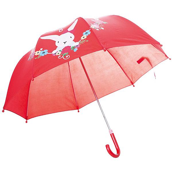 Зонт Mary Poppins Rose Bunny 41 см, красныйЗонты детские<br>Характеристики:<br><br>• возраст: от 3 лет<br>• радиус: 41 см.<br>• длина ручки: 57 см.<br>• система складывания: механическая<br>• материал: полиэстер, пластик, металл<br>• вес: 260 гр.<br><br>Яркий зонтик «Rose Bunny» от бренда Mary Poppins (Мэри Поппинс) не только защитит ребенка от дождя, но и подарит отличное настроение даже в ненастную погоду.<br><br>Купол зонта красного цвета украшен принтом с очаровательным зайчиком.<br><br>Зонт весьма прост в эксплуатации: его легко открывать и закрывать, а также он имеет удобную эргономичную ручку.<br><br>Детский зонт «Rose Bunny» изготовлен из качественных материалов и отличается прочной конструкцией, благодаря чему прослужит долго.<br><br>Зонт детский Rose Bunny, 41см, коллекции Lady Mary можно купить в нашем интернет-магазине.<br>Ширина мм: 9999; Глубина мм: 9999; Высота мм: 9999; Вес г: 260; Возраст от месяцев: 36; Возраст до месяцев: 2147483647; Пол: Унисекс; Возраст: Детский; SKU: 7240484;