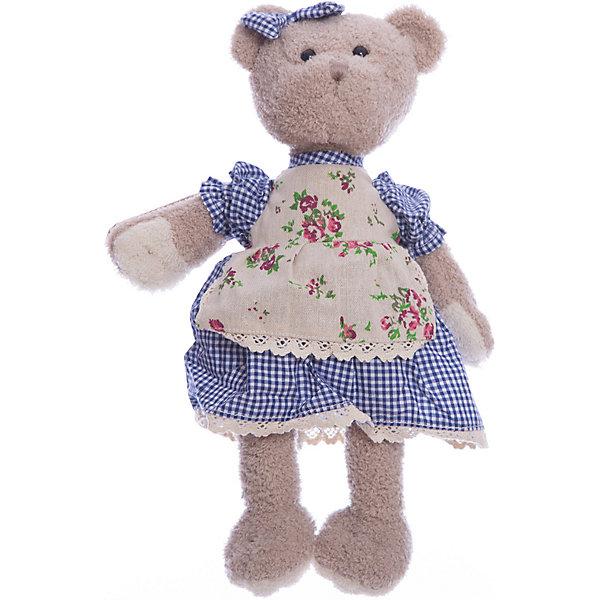 Мишка Машенька 23см в голубом.Бренды кукол<br>Обворожительная модница - мишка Машенька понравится и детям, и взрослым! Такую игрушку очень приятно получить в подарок. Машенька одета в клетчатое платье с цветочным принтом, а на голове у нее повязан бантик. Высота мишки составляет 23 см. Игрушка сделана из искусственного меха и трикотажа, фурнитура выполнена из пластмассы. Наполнитель - полиэфирное волокно и полиэтиленовые гранулы. Допускается ручная стирка при температуре 30 градусов. Рекомендованный возраст: 3 года +.<br><br>Ширина мм: 9999<br>Глубина мм: 9999<br>Высота мм: 9999<br>Вес г: 220<br>Возраст от месяцев: 36<br>Возраст до месяцев: 2147483647<br>Пол: Унисекс<br>Возраст: Детский<br>SKU: 7240522