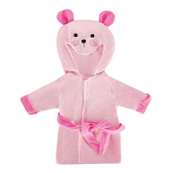 Одеждя для куклы Mary Poppins Халат, 38-43 см (розовый)Одежда для кукол<br>Характеристики:<br><br>• возраст: от 3 лет<br>• в комплекте: халат, пластиковая вешалка<br>• высота куклы: 38-43 см.<br>• материал: текстиль<br>• упаковка: чехол<br>• уход: стирка в стиральной машине при температуре 30 ?С<br><br>Забавный халат с мордочкой и ушками медвежонка на капюшоне, выполненный в нежно-розовом цвете, станет отличным дополнением к гардеробу любой куклы высотой от 38 до 43 см.<br><br>Халат для куклы сшит из мягкой, приятной на ощупь, плотной ткани. Швы на изделии выполнены очень качественно и аккуратно. Цвет халата останется такими же даже после стирки, так как ткань окрашена стойкими красителями.<br><br>Халат упакован в прозрачный чехол на застежках, а вешалка поможет малышкам удобно хранить его в шкафу.<br><br>Одежду для куклы 38-43см, халат можно купить в нашем интернет-магазине.<br>Ширина мм: 225; Глубина мм: 10; Высота мм: 310; Вес г: 130; Возраст от месяцев: 36; Возраст до месяцев: 2147483647; Пол: Женский; Возраст: Детский; SKU: 7240549;
