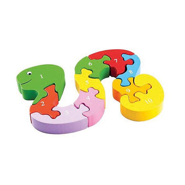 Вкладыш-пазл Mapacha ЗмейкаДеревянные игрушки<br>Характеристики:<br><br>• возраст: от 3 лет<br>• в комплекте: 10 фигурок<br>• материал: дерево<br><br>Фигурный пазл «Змейка» разовьет фантазию и логическое мышление ребенка, научит его считать до 10. Пазл состоит из 10 элементов, которые соединяясь друг с другом, образуют змейку.<br><br>Игрушка выполнена из экологически чистого материала – дерева. Окрашена в яркие цвета, нетоксичными красками. Не имеет острых углов, безопасна для малыша.<br><br>Пазл Змейка можно купить в нашем интернет-магазине.<br>Ширина мм: 9999; Глубина мм: 9999; Высота мм: 9999; Вес г: 190; Возраст от месяцев: 36; Возраст до месяцев: 2147483647; Пол: Унисекс; Возраст: Детский; SKU: 7240551;