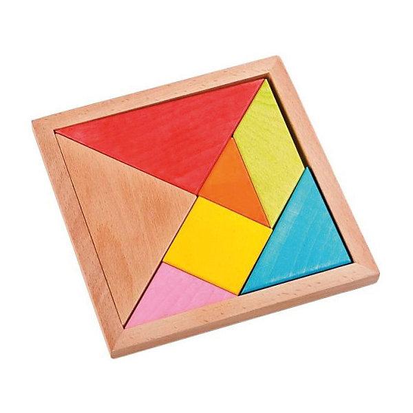 Вкладыш-пазл Mapacha ТреугольникиДеревянные игрушки<br>Характеристики:<br><br>• возраст: от 3 лет<br>• в комплекте: деревянная коробка открытого типа, 7 геометрических фигур<br>• материал: дерево<br>• упаковка: пленка<br><br>Пазл «Треугольники» - это логическая игра. Цель игры: разместить в коробке геометрические фигуры, сопоставив их по форме и линиям с соседними.<br><br>Складывая пазл, ребенок разовьет мелкую моторику рук и начнёт лучше координировать свои движения.<br><br>Игрушка выполнена из экологически чистого материала – дерева. Окрашена в яркие цвета, нетоксичными красками.<br><br>Пазл Треугольники можно купить в нашем интернет-магазине.<br>Ширина мм: 140; Глубина мм: 140; Высота мм: 10; Вес г: 170; Возраст от месяцев: 36; Возраст до месяцев: 2147483647; Пол: Унисекс; Возраст: Детский; SKU: 7240553;