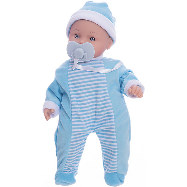 Кукла-пупс Mary Poppins Маленькая плакса в голубом, 30 см (звук)Куклы<br>Характеристики:<br><br>• возраст: от 3 лет<br>• комплектация: пупс, соска<br>• высота куклы: 30 см.<br>• материал: пластмасса, ПВХ, текстиль<br>• батарейки: 3 типа AG13<br>• наличие батареек: входят в комплект<br>• упаковка: картонная коробка блистерного типа<br><br>Пупс с мягконабивным телом, с твердыми ручками и ножками очарует любую девочку и даст ей возможность почувствовать себя заботливой мамой. Такую куколку очень приятно обнимать и держать на ручках.<br><br>Кукла оснащена звуковыми эффектами. Если у пупса отобрать пустышку, он заплачет.<br><br>Кукла похожа на настоящего малыша. У нее пухлые щечки, широко открытые глазки, аккуратный носик. Пупс одет в симпатичный полосатый комбинезон и шапочку. Кукла поставляется в комплекте с соской.<br><br>Пупс изготовлен из пластмассы и ПВХ с элементами текстиля.<br><br>Пупса 30см «Маленькая плакса» в коробке можно купить в нашем интернет-магазине.<br>Ширина мм: 310; Глубина мм: 130; Высота мм: 170; Вес г: 730; Возраст от месяцев: 36; Возраст до месяцев: 2147483647; Пол: Женский; Возраст: Детский; SKU: 7240561;