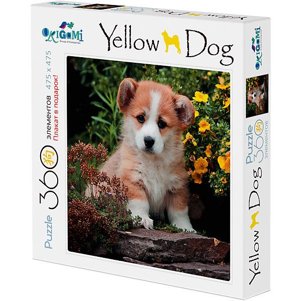Купить Собаки.Пазл.360Эл. +плакат.Щеночек в саду.03469, Origami, Россия, Унисекс
