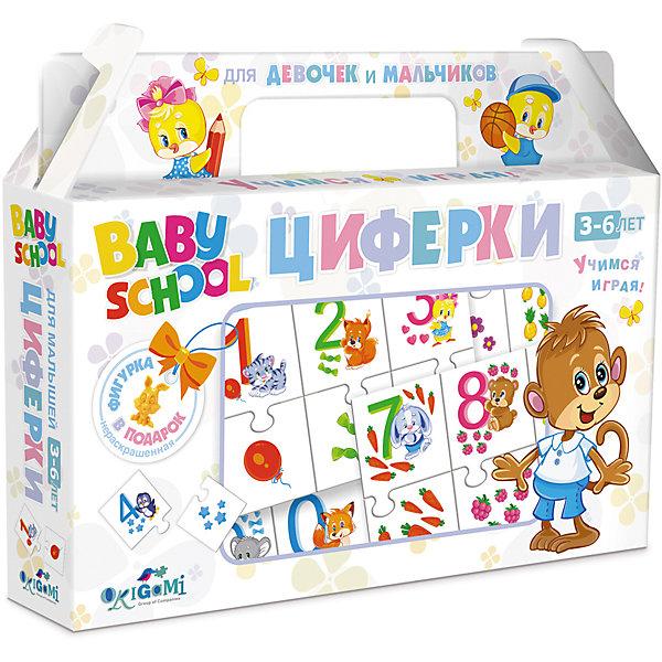 Для Малышей.Наст.игра.Чем.+фигурка.Циферки.03435Пособия для обучения счёту<br>Характеристики товара:<br><br>• возраст: от 3 лет; <br>• размер упаковки: 22x17x4 см.;<br>• вес: 175 гр.;<br>• из чего сделана игрушка (состав): картон;<br>• комплект: карточки, фигурка;<br>• упаковка: картонный чемоданчик;<br>• страна обладатель бренда: Россия.<br><br>Настольная игра «Циферки» поможет ребенку весело провести время в одиночку или в компании родителей. <br><br>Это настольная игра, которая поможет вашему ребёнку научиться считать. С  карточками с цифрами от одного до десяти ваш ребенок не только легко выучит счет, но еще и подружиться с животными. <br><br>В комплекте специальная игрушка-сюрприз.<br><br>Настольную игру можно купить в нашем интернет-магазине.<br><br>Ширина мм: 220<br>Глубина мм: 40<br>Высота мм: 170<br>Вес г: 175<br>Возраст от месяцев: 36<br>Возраст до месяцев: 2147483647<br>Пол: Унисекс<br>Возраст: Детский<br>SKU: 7240717