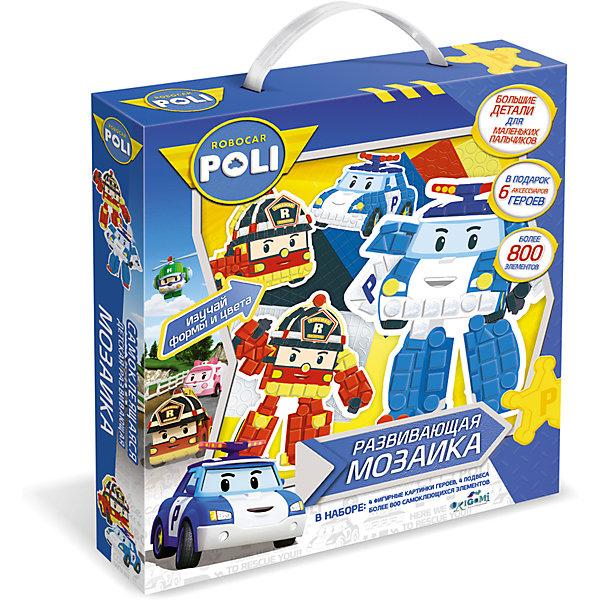 Мозаика-набор д/малышей «Робокар Поли». Фигурная 3D аппликацияМозаика детская<br>Самоклеящаяся мозаика - хороший подарок для маленького поклонника мультсериала Робокар Поли. Крупные детали удобно ложатся в ручку, а для того, чтобы украсить любимых героев, совсем не нужен клей! После украшения можно легко повесить картинку на стену.<br><br>Ширина мм: 250<br>Глубина мм: 46<br>Высота мм: 228<br>Вес г: 150<br>Возраст от месяцев: 36<br>Возраст до месяцев: 2147483647<br>Пол: Унисекс<br>Возраст: Детский<br>SKU: 7240733