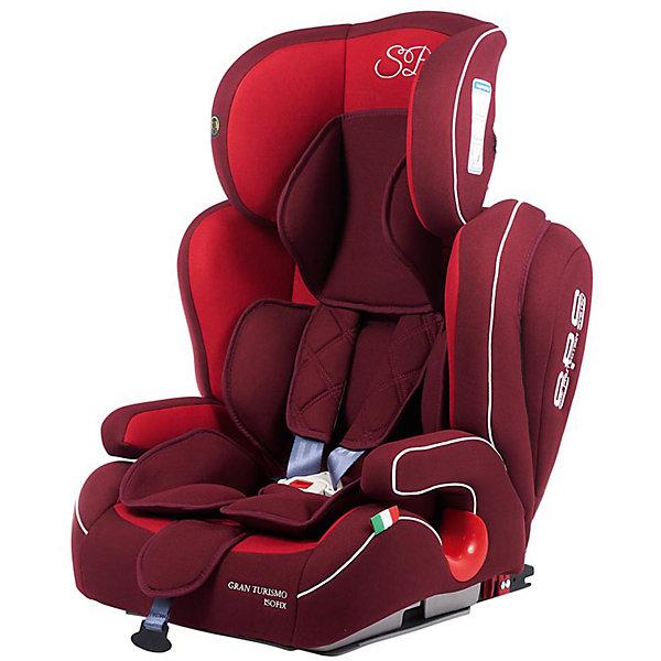 Автокресло Sweet Baby Gran Turismo SPS c Isofix, 9-36 кг, красныйГруппа 1-2-3  (от 9 до 36 кг)<br>Комфортное и безопасное автокресло для ребенка весом 9-36 кг. <br>Основные характеристики: <br>Изофикс для надежной фиксации кресла в машине<br>Усиленная боковая защита и защита головы элементами SPS<br>Две позиции наклона спинки<br>Регулировка подголовника в шести положениях<br>Возможность трансформировать автокресло в бустер<br>5-ти точечные ремни безопасности<br>Подстаканник<br>Ширина мм: 460; Глубина мм: 490; Высота мм: 700; Вес г: 9300; Возраст от месяцев: 9; Возраст до месяцев: 144; Пол: Унисекс; Возраст: Детский; SKU: 7241051;