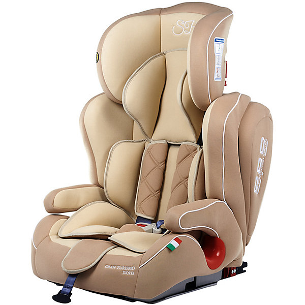 Автокресло Sweet Baby Gran Turismo SPS c Isofix, 9-36 кг, бежевыйГруппа 1-2-3  (от 9 до 36 кг)<br>Комфортное и безопасное автокресло для ребенка весом 9-36 кг. <br>Основные характеристики: <br>Изофикс для надежной фиксации кресла в машине<br>Усиленная боковая защита и защита головы элементами SPS<br>Две позиции наклона спинки<br>Регулировка подголовника в шести положениях<br>Возможность трансформировать автокресло в бустер<br>5-ти точечные ремни безопасности<br>Подстаканник<br><br>Ширина мм: 460<br>Глубина мм: 490<br>Высота мм: 700<br>Вес г: 9300<br>Возраст от месяцев: 9<br>Возраст до месяцев: 144<br>Пол: Унисекс<br>Возраст: Детский<br>SKU: 7241053