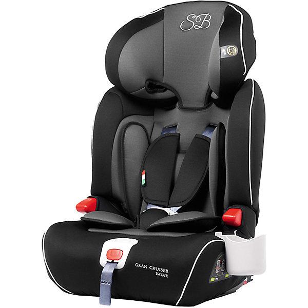 Автокресло Sweet Baby Gran Cruiser c Isofix, 9-36 кг, серый/черныйГруппа 1-2-3  (от 9 до 36 кг)<br>Комфортное и безопасное автокресло для ребенка весом 9-36 кг. <br>Основные характеристики: <br>Изофикс для надежной фиксации кресла в машине<br>Усиленная боковая защита и защита головы элементами SPS<br>Регулировка подголовника в шести положениях<br>Возможность трансформировать автокресло в бустер<br>5-ти точечные ремни безопасности<br>Подстаканник<br>Ширина мм: 430; Глубина мм: 450; Высота мм: 690; Вес г: 8750; Возраст от месяцев: 9; Возраст до месяцев: 144; Пол: Унисекс; Возраст: Детский; SKU: 7241055;