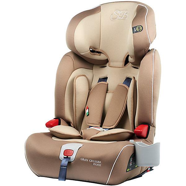 Автокресло Sweet Baby Gran Cruiser c Isofix, 9-36 кг, бежевыйГруппа 1-2-3  (от 9 до 36 кг)<br>Комфортное и безопасное автокресло для ребенка весом 9-36 кг. <br>Основные характеристики: <br>Изофикс для надежной фиксации кресла в машине<br>Усиленная боковая защита и защита головы элементами SPS<br>Регулировка подголовника в шести положениях<br>Возможность трансформировать автокресло в бустер<br>5-ти точечные ремни безопасности<br>Подстаканник<br>Ширина мм: 430; Глубина мм: 450; Высота мм: 690; Вес г: 8750; Возраст от месяцев: 9; Возраст до месяцев: 144; Пол: Унисекс; Возраст: Детский; SKU: 7241057;