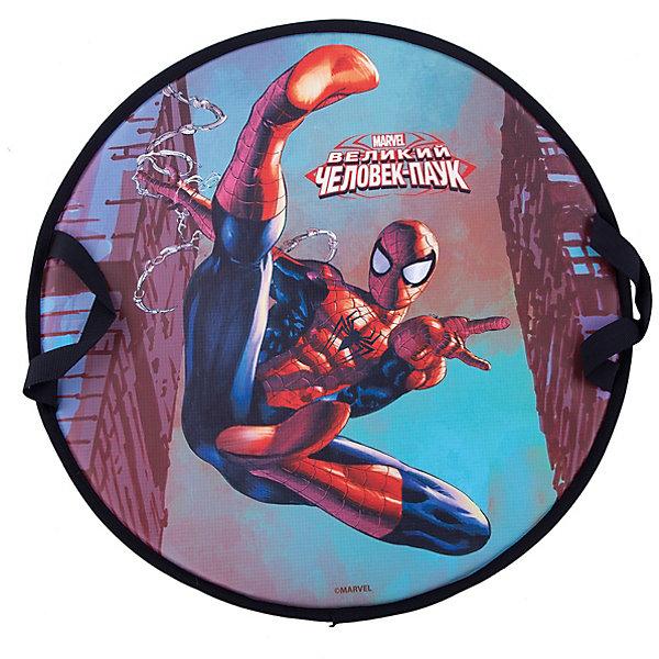 Marvel Spider-Man, ледянка 52 см, круглаяЛедянки<br>Ледянка Marvel Spider-Man, размер 52 см, круглая. Ледянка для любителей зимних спортивных развлечений с героями любимого мультфильма. Ледянка подарит много радостных моментов Вашему малышу. Ледянка красочно оформлена с персонажами любимого фильма, она легкая.<br>Ширина мм: 500; Глубина мм: 500; Высота мм: 10; Вес г: 345; Возраст от месяцев: 36; Возраст до месяцев: 1188; Пол: Унисекс; Возраст: Детский; SKU: 7241946;
