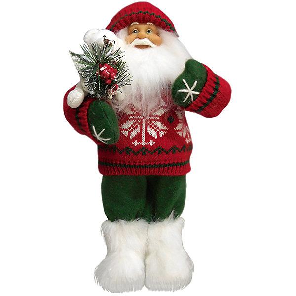 Дед Мороз в Красном Свитере, с МишкойНовинки Новый Год<br>Дед Мороз -  рождественская фигура. Выглядит очень естественно, со множеством мелких деталей. Отлично встанет под новогоднюю елку. Состав: нетканое полотно, плюш, пластмасса. Срок службы при надлежащем использовании - 5 лет.<br><br>Ширина мм: 320<br>Глубина мм: 160<br>Высота мм: 320<br>Вес г: 400<br>Возраст от месяцев: 60<br>Возраст до месяцев: 2147483647<br>Пол: Унисекс<br>Возраст: Детский<br>SKU: 7243055