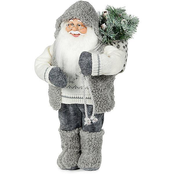 Дед Мороз с Елкой в ШубкеНовинки Новый Год<br>Дед Мороз - большая рождественская фигурка. Выглядит очень естественно, со множеством мелких деталей. Отлично встанет под новогоднюю елку. Состав: нетканое полотно, плюш, пластмасса. Срок службы при надлежащем использовании - 5 лет.<br><br>Ширина мм: 460<br>Глубина мм: 250<br>Высота мм: 460<br>Вес г: 751<br>Возраст от месяцев: 60<br>Возраст до месяцев: 2147483647<br>Пол: Унисекс<br>Возраст: Детский<br>SKU: 7243062
