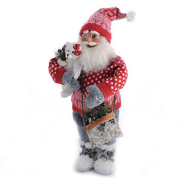 Дед Мороз Большой в Красной Шубе, с МишкойНовинки Новый Год<br>Дед Мороз - большая рождественская фигурка. Выглядит очень естественно, со множеством мелких деталей. Отлично встанет под новогоднюю елку. Состав: нетканое полотно, плюш, пластмасса, дерево. Срок службы при надлежащем использовании - 5 лет.<br><br>Ширина мм: 600<br>Глубина мм: 300<br>Высота мм: 600<br>Вес г: 1278<br>Возраст от месяцев: 60<br>Возраст до месяцев: 2147483647<br>Пол: Унисекс<br>Возраст: Детский<br>SKU: 7243064