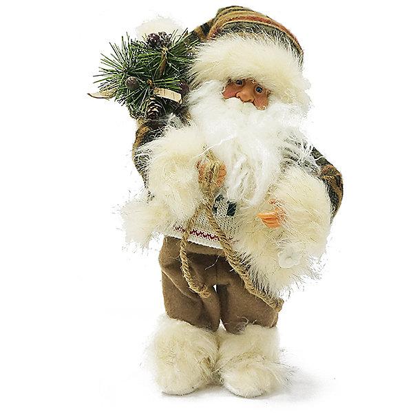 Дед Мороз в Шубе, с МузыкойНовинки Новый Год<br>Дед Мороз - большая рождественская фигурка. Выглядит очень естественно, со множеством мелких деталей, с музыкой. Отлично встанет под новогоднюю елку. Танцует. Работате от 3-х батареек АА 1,5V, батарейки в комплект не входят. Состав: нетканое полотно, плюш, пластмасса.Срок службы при надлежащем использовании - 5 лет.<br>Ширина мм: 300; Глубина мм: 250; Высота мм: 310; Вес г: 362; Возраст от месяцев: 60; Возраст до месяцев: 2147483647; Пол: Унисекс; Возраст: Детский; SKU: 7243065;