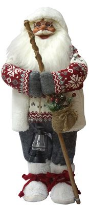 Maxitoys Дед Мороз С Посохом В Свитере фото-1