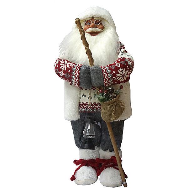 Дед Мороз с Посохом в СвитереНовинки Новый Год<br>Дед Мороз - большая рождественская фигурка. Выглядит очень естественно, со множеством мелких деталей. Отлично встанет под новогоднюю елку. Состав: нетканое полотно, плюш, пластмасса, дерево. Срок службы при надлежащем использовании - 5 лет.<br><br>Ширина мм: 460<br>Глубина мм: 220<br>Высота мм: 460<br>Вес г: 724<br>Возраст от месяцев: 60<br>Возраст до месяцев: 2147483647<br>Пол: Унисекс<br>Возраст: Детский<br>SKU: 7243067