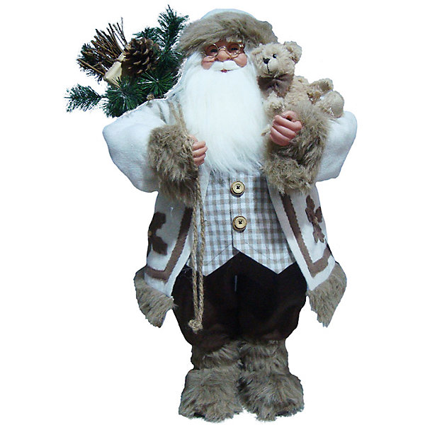 Дед Мороз в ШубеНовинки Новый Год<br>Дед Мороз - большая рождественская фигурка. Выглядит очень естественно, со множеством мелких деталей. Отлично встанет под новогоднюю елку. Состав: нетканое полотно, плюш, пластмасса. Срок службы при надлежащем использовании - 5 лет.<br><br>Ширина мм: 620<br>Глубина мм: 360<br>Высота мм: 800<br>Вес г: 1343<br>Возраст от месяцев: 60<br>Возраст до месяцев: 2147483647<br>Пол: Унисекс<br>Возраст: Детский<br>SKU: 7243069